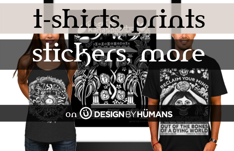 T-shirts, prints, stickers, mugs, and more on Design By Humans